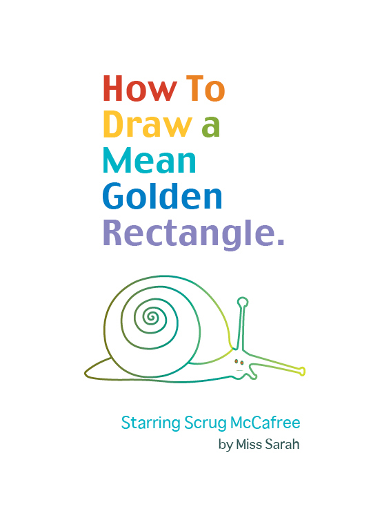 How to Draw a Mean Rectangle Instructional Booklet: Front Cover