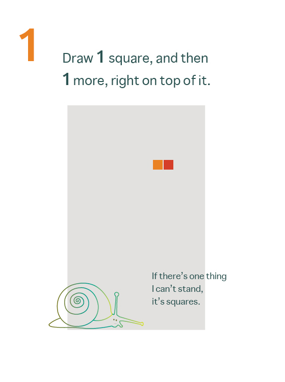 How to Draw a Mean Rectangle Instructional Booklet: Page 1