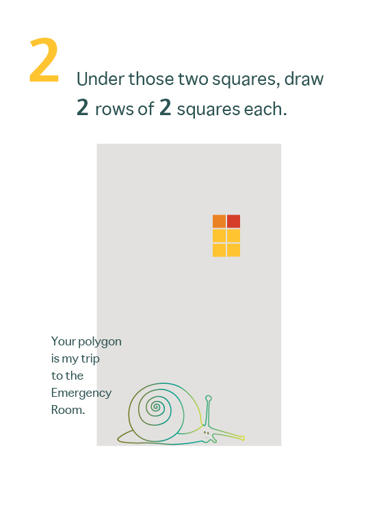 How to Draw a Mean Rectangle Instuctional Booklet: Page 2
