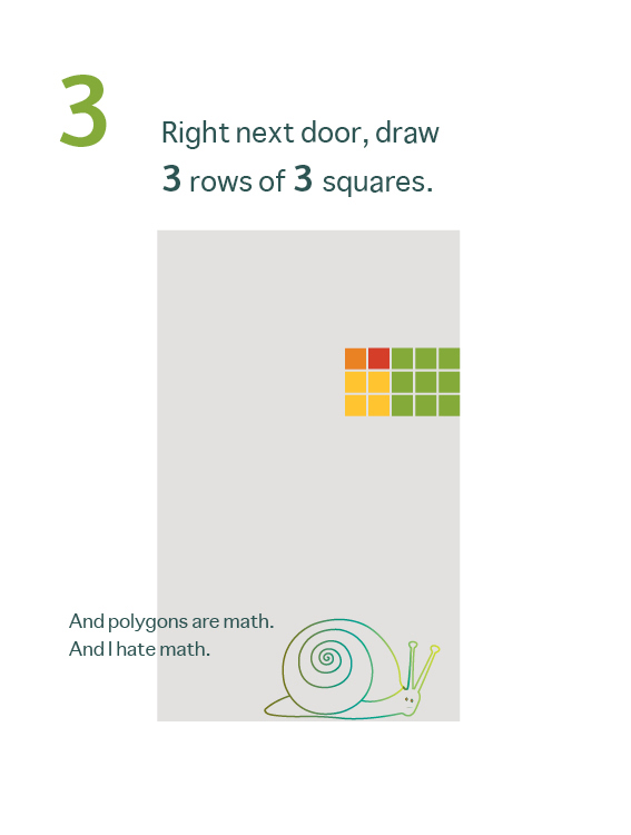 How to Draw a Mean Rectangle Instuctional Booklet: Page 3