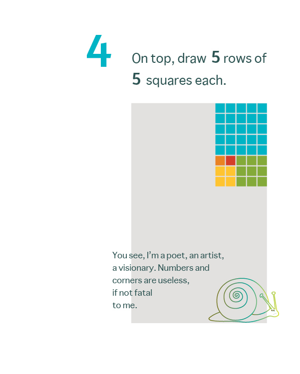 How to Draw a Mean Rectangle Instructional Booklet: Page 4