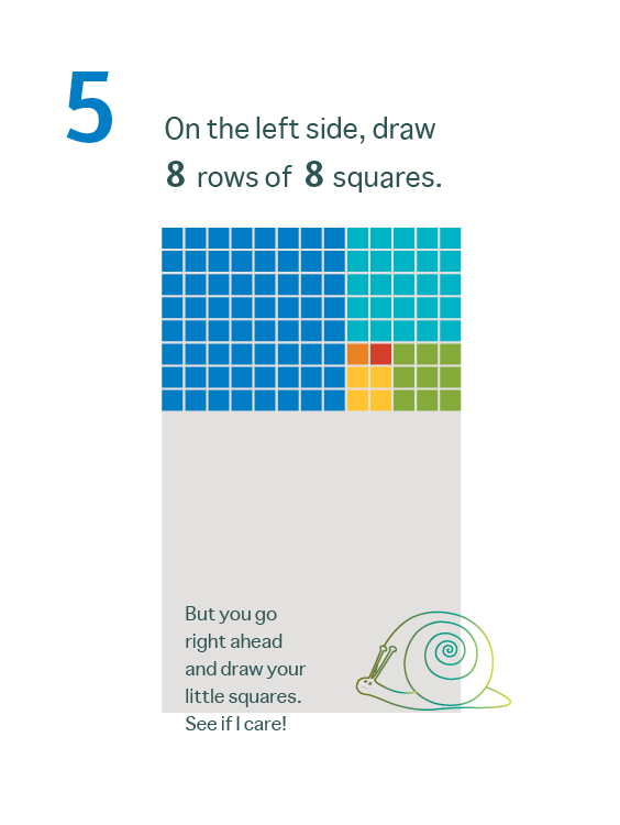 How to Draw a Mean Rectangle Instructional Booklet: Page 5