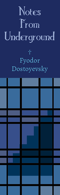 Dostoyevsky Bookmark Series: Notes From Underground: Front